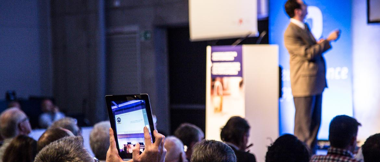 Trevor Robbins Professor of Cognitive Neuroscience presenting at ECNP 2014