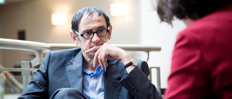 Professor Philippe Fossati of the Hôpital de La Salpêtrière