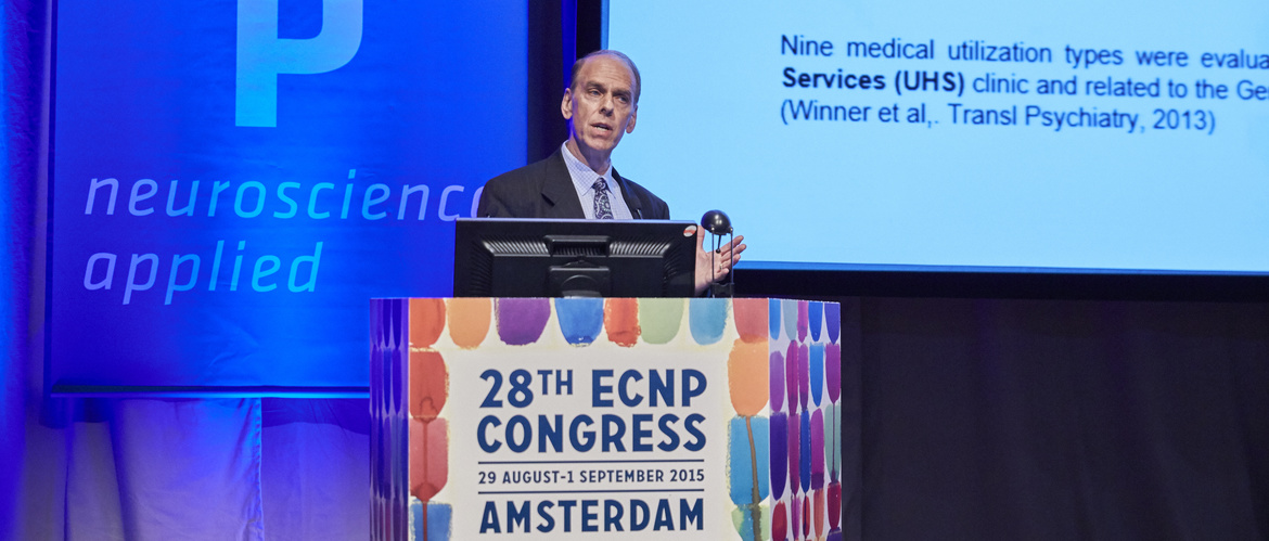 Presenting at the ECNP 2015 in Amsterdam