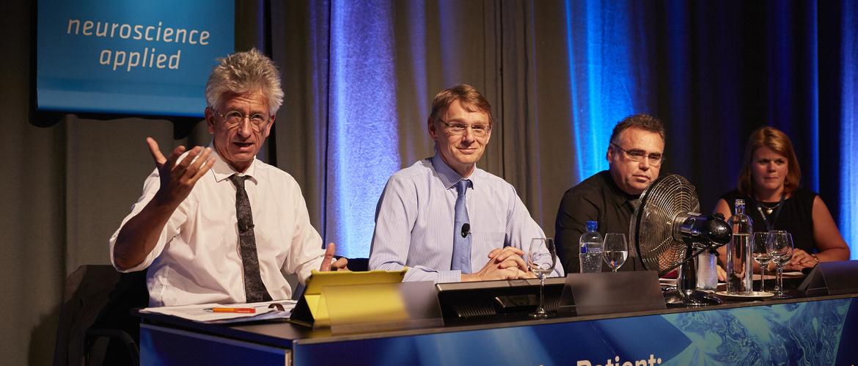 Bernhard Baune and friends talking Brintellix
