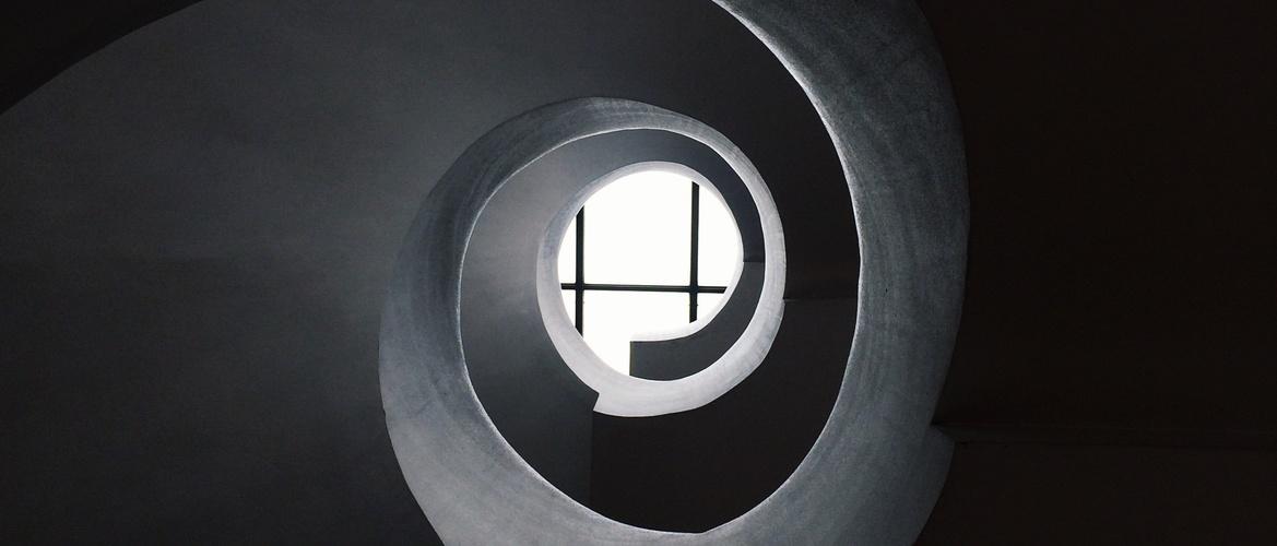 Spinning tunnel brings memories.