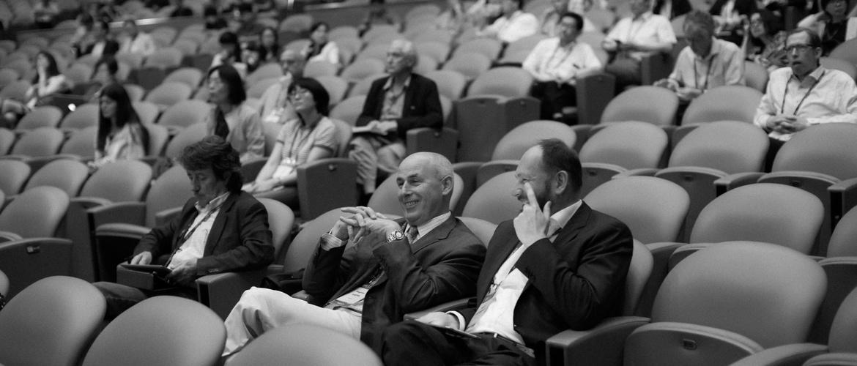 People attending CINP 2016