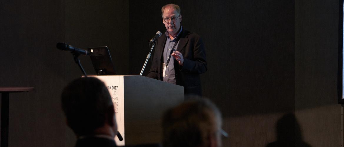 Frans R J Verhey speaking
