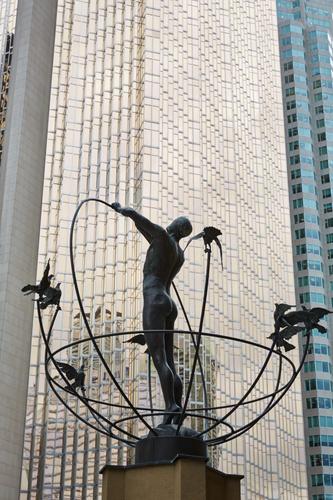 Statue at APA